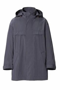 Uniqlo J+ Oversized Hooded Half Coat