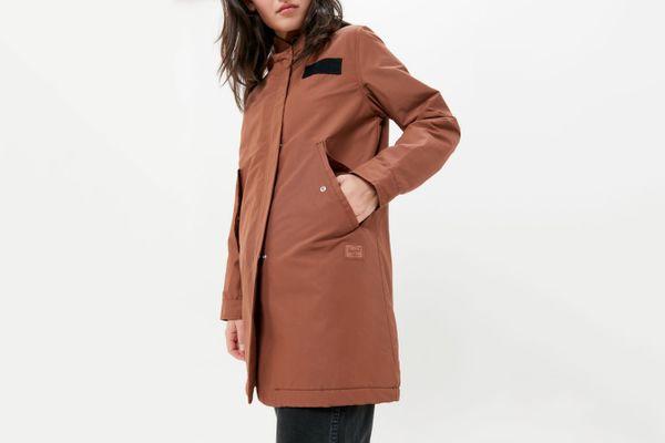 Herschel Supply Co. Sherpa Lined Fishtail Parka Jacket
