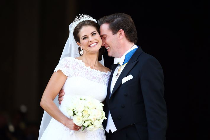 Princess Madeleine Wed in Valentino and a Tiara