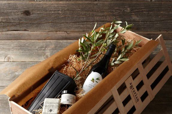 Williams Sonoma Olive Crate