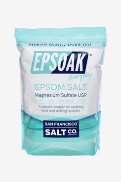 Epsoak Epsom Salt 19 lb. Bulk Bag Magnesium Sulfate