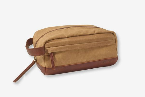 L.L. Bean Heritage Waxed-Canvas Toiletry Kit