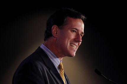 Republican presidential candidate and former U.S. Senator Rick Santorum (R-PA)speaks during the 2011 Republican Leadership Conference on June 17, 2011 in New Orleans, Louisiana.