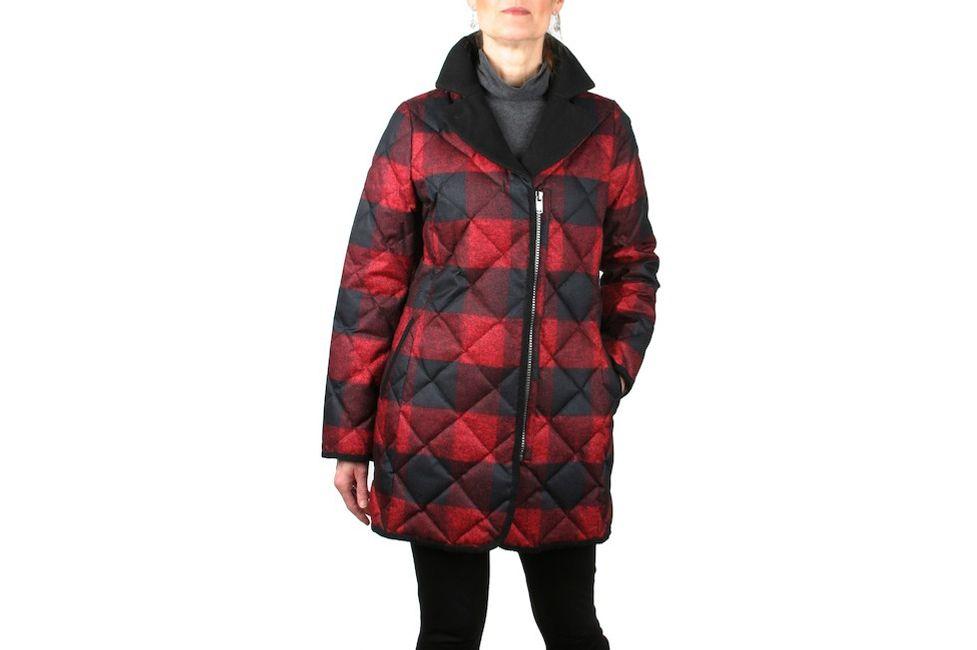Pendleton Leavenworth Plaid Quilted Down Coat