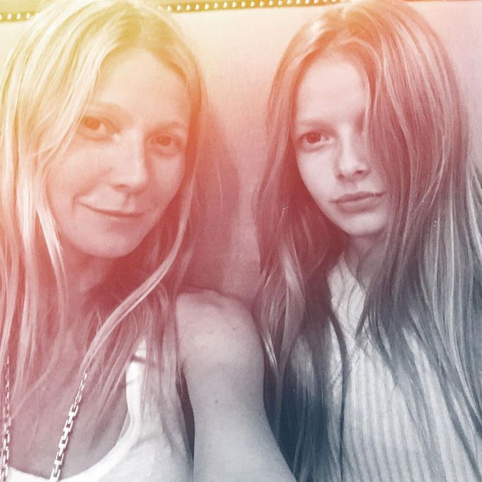 Gwyneth Paltrow and Apple Martin