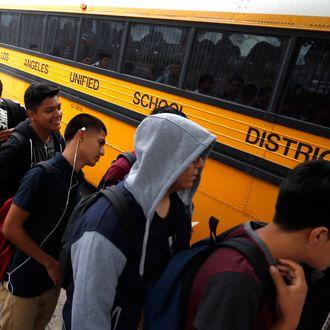 School Begins In Southern California
