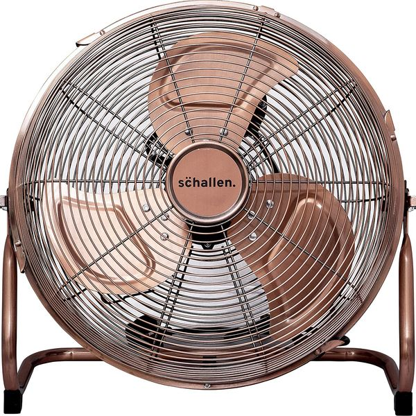 Schallen Copper High Velocity Floor Fan
