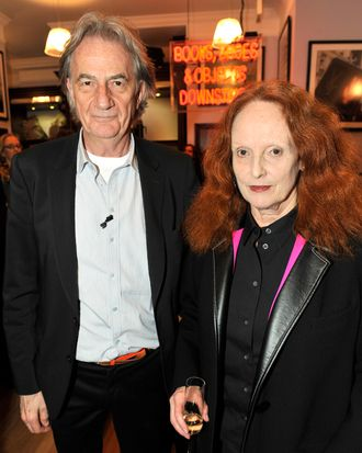 Paul Smith and Grace Coddington.