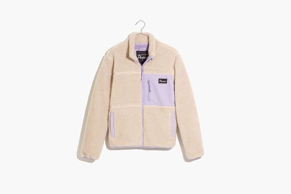 Madewell x Penfield Mattawa Sherpa Fleece Jacket
