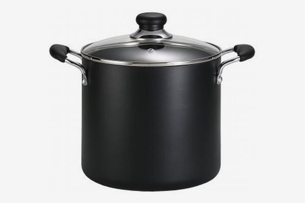 T-fal Specialty Total Nonstick Dishwasher Safe Oven Safe Stockpot Cookware, 12-Quart