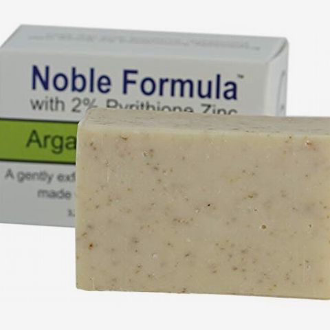 Noble Formula Zinc Bar Soap With Argan Oil and Oatmeal