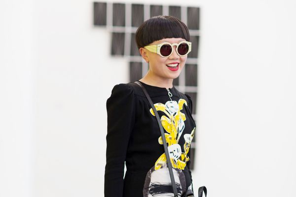 Frieze Street Style: Koons Bags and Bowl Cuts