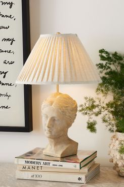 Grecian Bust Table Lamp