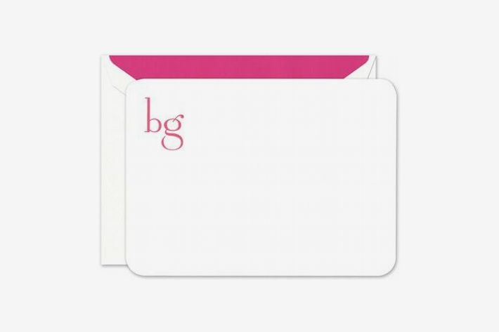 Crane & Co. Large Rounded White Card