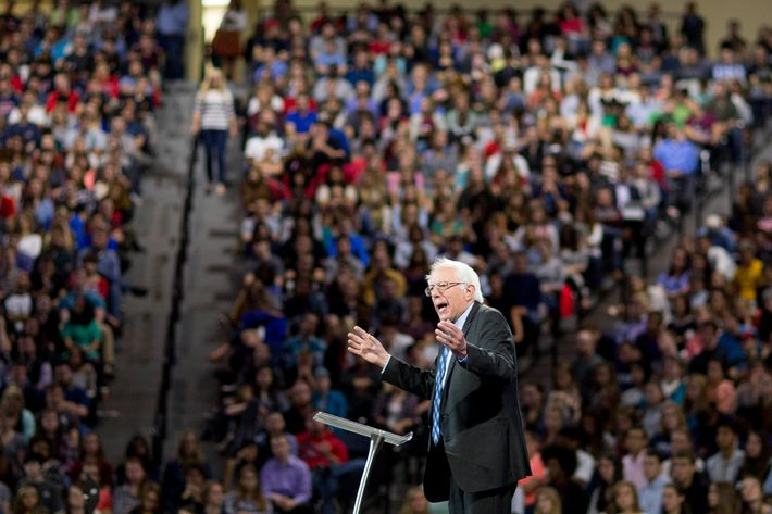 Senator Bernie Sanders Speaks At Liberty University Convocation