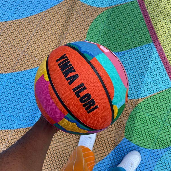 Yinka Ilori Limited Edition Basketball