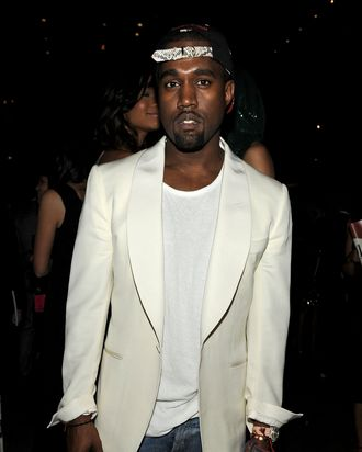 Kanye West attends a supper following the 2011 CFDA Fashion Awards at Alice Tully Hall, Lincoln Center on June 6, 2011 in New York City.