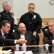 Prominent Orthodox leader Nechemya Weberman (center) at State Supreme Court in Brooklyn after being found guilty of 59 counts of sexual abuse. The conviction of a prominent member of Brooklyn's Satmar Hasidic community on 59 counts of sexually abusing a schoolgirl stands as an important use of the criminal law in a defiantly insular culture. A jury credited her description of Weberman as a predator, and it rejected his claim that she had accused him in revenge for a scheme to have her boyfriend charged with statutory rape. Based on the evidence, the finding appeared a well-justified conclusion for which punishment must, and will, be severe. That said, had the jury acquitted Weberman, the case would still have been a landmark. On its own, trying him established that the law will be equally and fairly applied to all. L-R: Defense Attorney Michael Farkas, Nechemya Weberman, defense attorney George Farkas.