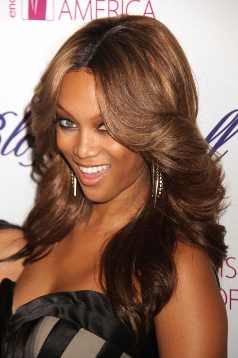 March 15, 2012 - New York, New York, U.S. - TYRA BANKS attends the Endometriosis Foundation of America 4th Annual Blossom Ball held at the New York Public Library. (Credit Image: ? Nancy Kaszerman/ZUMAPRESS.com)