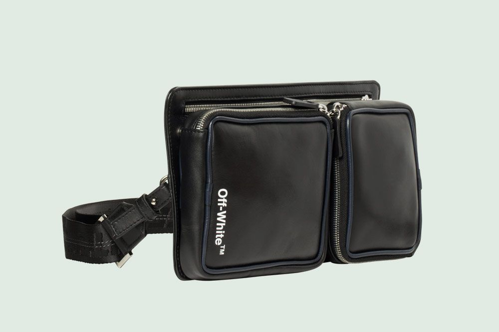 Off-White Cordura Hip Belt Bag