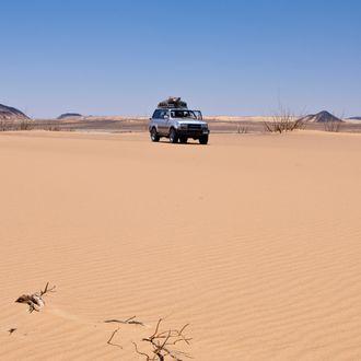 Desert near Bahariya Oasis, Libyan Desert, Egypt