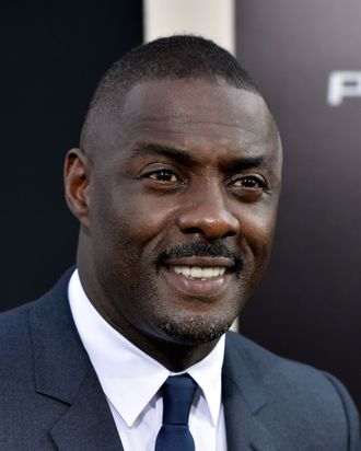 HOLLYWOOD, CA - JULY 09: Actor Idris Elba arrives at the premiere of Warner Bros. Pictures' and Legendary Pictures'