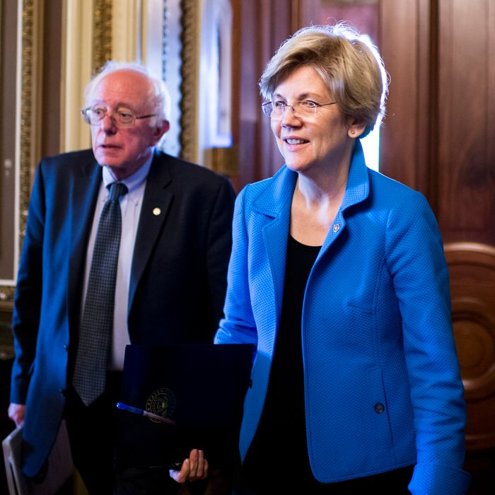 Sanders and Warren had the best news.