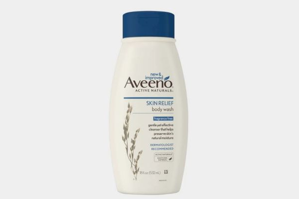 Aveeno Skin Relief Fragrance Free Body Wash for Dry Skin