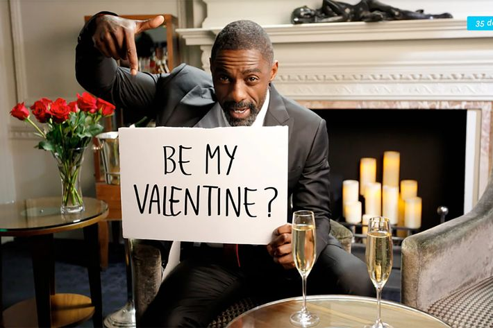 Idris Elba Could Be Your Date This Valentine's Day