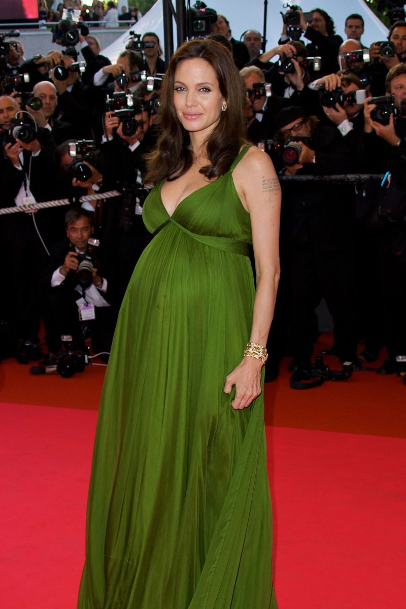 Angelina Jolie 2006 Most Famous Pregnancy Moments The Cut