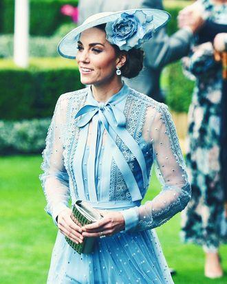 Kate Middleton in Elie Saab.