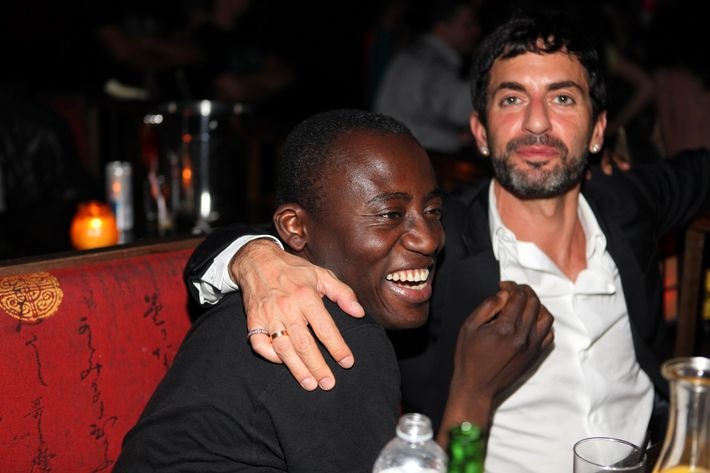 Edward Enninful gets some love from Marc Jacobs.
