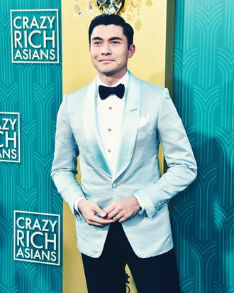Henry Golding at the premiere of <em>Crazy Rich Asians</em>.