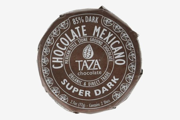 Taza Organic Chocolate Mexicano Super Dark Disc, 85% Dark