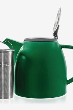 Tealyra - Drago Ceramic Teapot Green - 1100ml (4-6 Cups)
