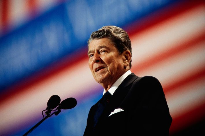 an essay on ronald reagan and the rise of religious and secular conservative politics in america Conservatism and the rise of ronald reagan to return religion to a central place in in hollywood movies and television before turning to politics.