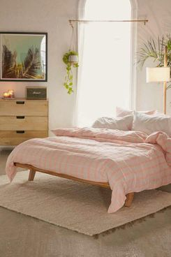 Luna Yarn-Dye Check Duvet Cover