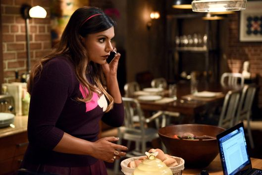 "THE MINDY PROJECT:  Mindy (Mindy Kaling) is nervous to host dinner for Danny's priest in the ""Confessions of a Catho-holic"" episode of THE MINDY PROJECT airing Tuesday, March 10 (9:30-10:00 PM ET/PT) on FOX. ?2015 Michael Becker/FOX"