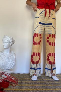 Tigra Tigra Tie Dye Patchwork Comet Trouser