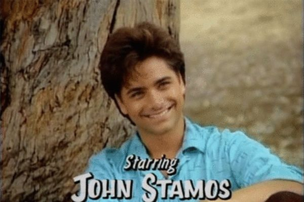 John Stamos and his sexy laugh