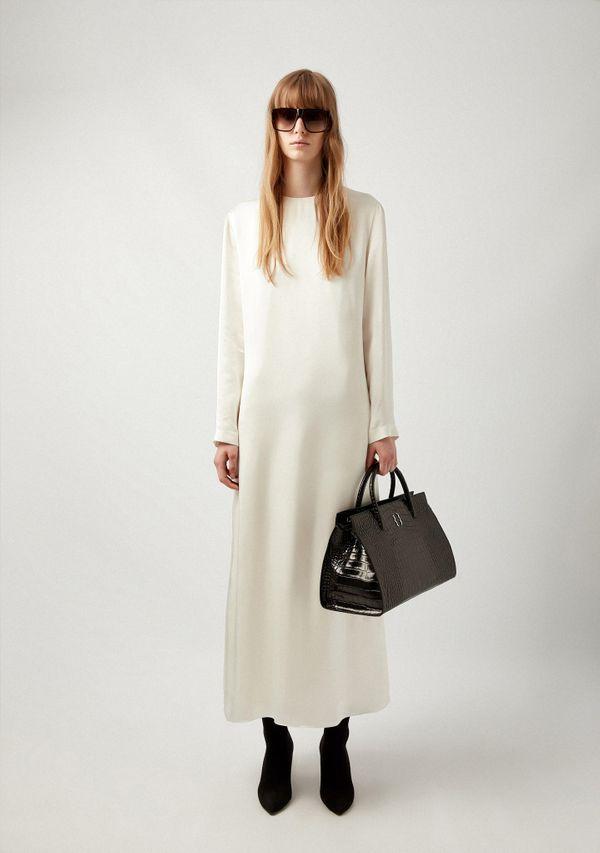 Satin Maxi Dress
