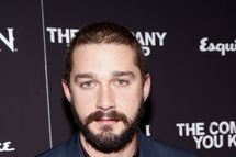 Shia LaBeouf==The Company You Keep New York Premiere Presented by Avion Espresso==MOMA, NYC==April 01, 2013.