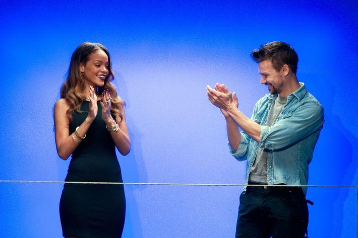 Rihanna and Adam Selman.