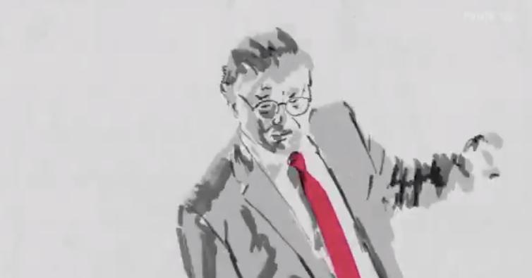Trump Posts Animated Video of Himself Dancing, Hugging Flag