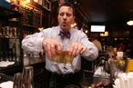 Doug Quinn Slinging Drinks at Fatta Cuckoo on Monday