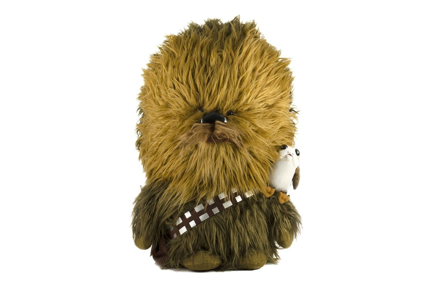 Star Wars: The Last Jedi Talking Chewbacca and Porg Plush Toy