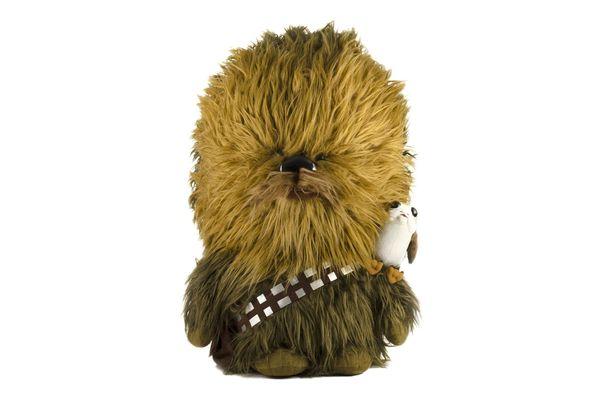 Star Wars: The Last Jedi Talking Chewbacca and Porg Plush Toy