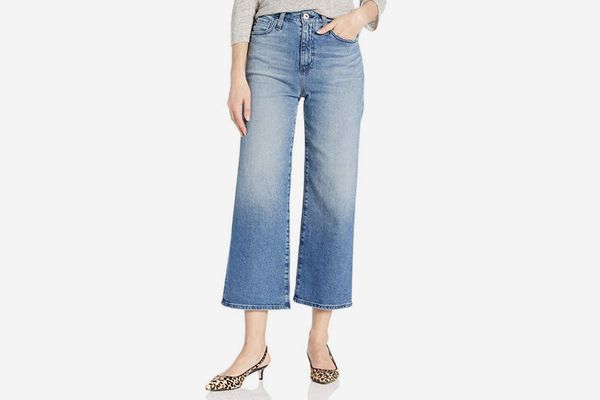 AG Adriano Goldschmied Women's Etta Wide-Leg Crop