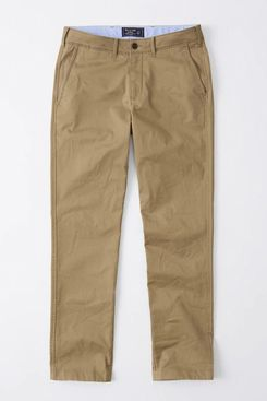 Abercrombie and Fitch Stretch Chino, Straight Fit
