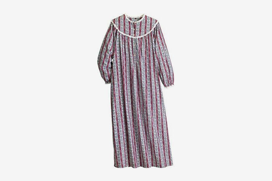 WOMENS 100/% COTTON  LONG NIGHTDRESS LADIES NIGHTY CHEMISE EMBROIDERY DETAILED